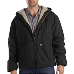 8.5 oz. Sanded Duck Sherpa Lined Hooded Jacket Thumbnail