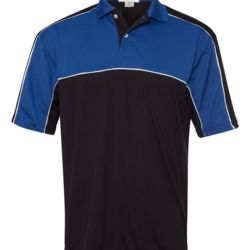 Daytona Racing Colorblocked Moisture-Free Mesh Sport Shirt Thumbnail