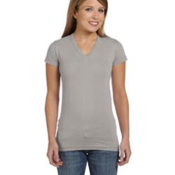 Ladies' Junior Fit V-Neck T-Shirt Thumbnail