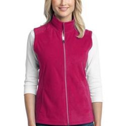 Ladies Microfleece Vest Thumbnail