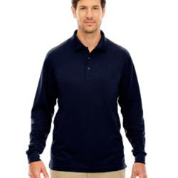 Men's Tall Pinnacle Performance Long-Sleeve Piqué Polo Thumbnail