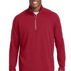 Sport Wick ® Textured 1/4 Zip Pullover Thumbnail