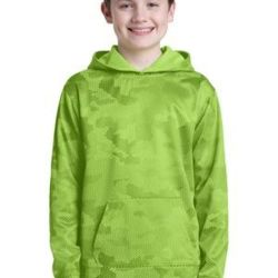 Youth Sport Wick ® CamoHex Fleece Hooded Pullover Thumbnail