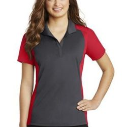 Ladies Colorblock Micropique Sport Wick ® Polo Thumbnail