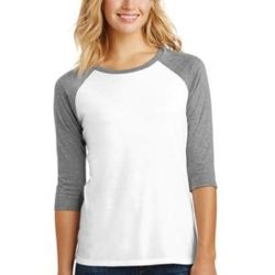 Women's Perfect Tri ® 3/4 Sleeve Raglan Thumbnail