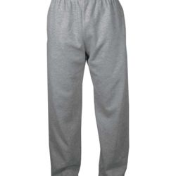 Open Bottom Sweatpants with Pockets Thumbnail
