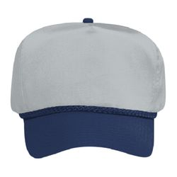 OTTO Cotton Blend Twill Five Panel Low Crown Baseball Cap Thumbnail