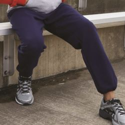 Dri Power® Closed Bottom Sweatpants with Pockets Thumbnail