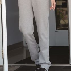Women's Lightweight Open Bottom Sweatpants Thumbnail