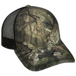 Oil Stained Camo Trucker Cap Thumbnail