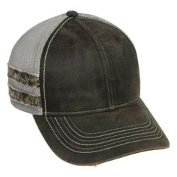 Frayed Camo Stripes Cap Thumbnail
