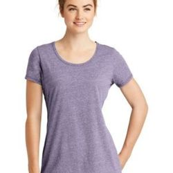 ® Ladies Tri Blend Performance Scoop Tee Thumbnail