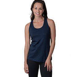 Ladies' Victory Racerback Cross Strap Tank Top Thumbnail