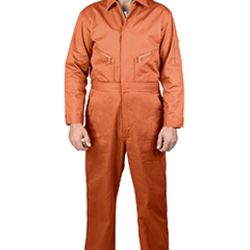 Unisex Twill Non-Insulated Long-Sleeve Coveralls Thumbnail