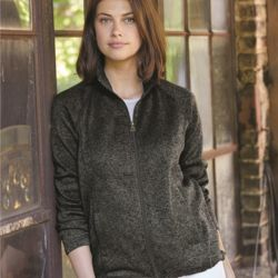 Women's Vintage Sweaterfleece Full-Zip Sweatshirt Thumbnail