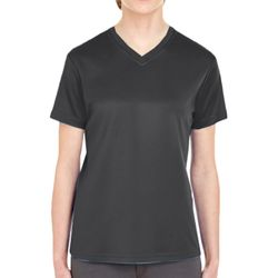 Ladies' Cool & Dry Sport V-Neck T-Shirt Thumbnail